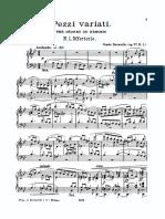 Ravanello - Pezzi Variati Op77