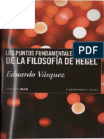 Vasquez, Eduardo - Los Puntos Fundamentales de La Filosofia de Hegel