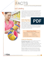 Gluten and Food Labeling