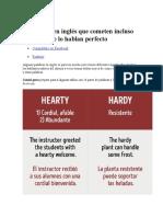 16 Errores en Inglés Que Cometen Incluso Aquellos Que Lo Hablan Perfecto