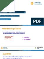 Medidas de Posición y de Dispersión