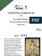 Conceptos Hebreos Lilit