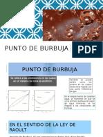 Punto de Burbuja (3)
