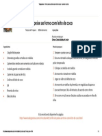 Tudogostoso - Filé de Peixe Ao Forno Com Leite de Coco - Imprimir Receita