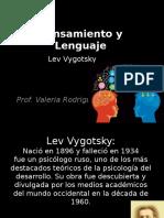 Vygotsky - Pensamiento y Lenguaje