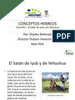 Conceptos Hebreos 52 - El Satan de Yob y de Yehoshuah