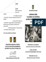Jornadas Guerra Civil UdeC 2017 Programa