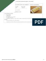 Crema de Vanilie Cu Unt Pentru Tort Sau Prajituri - Crema Mousseline