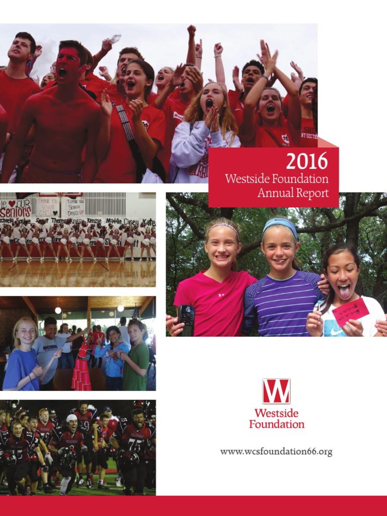 wcsf 2016 annual report | Early Childhood Education | Preschool