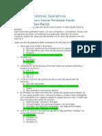 Examen - Sistemas Operativos