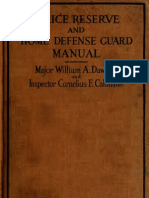 (1918) Police Reserve & Home Defense Guard Manual