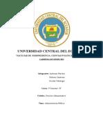 Administracion Publica - Mapa Conceptual