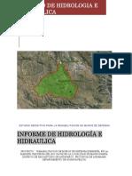 Memoria de Hidrológico e Hidráulico