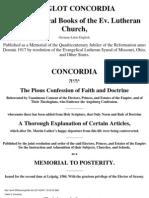 Triglota Concordia