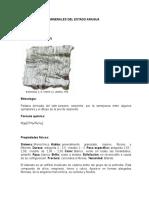 Minerales Del Estado Aragua
