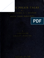 (1937) Minute Police Talks