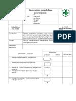 Sop Inventarisasi Pengelolaan Penyimpanan
