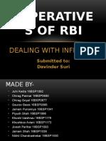 RBI - Inflation