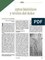 Conceptos Históricos y Teorías Del Dolor