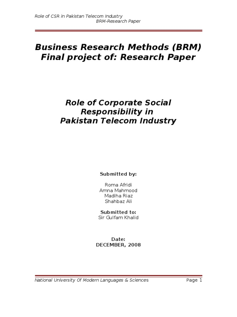 role of media in pakistan research paper This research paper analyzed the role of economic factors in terrorism in pakistan empirically using the annual time series data, covering the period from 2001 to 2014.