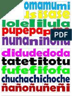 silabas oficio
