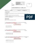 Prueba de Matemática 2A Abril (1)