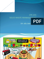 CPE655 Solid Waste Management