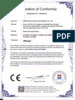 ROHS certification.pdf