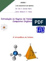 Regras de Nomenclatura em Química Orgânica UENF - CEDERJ