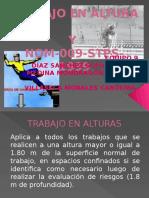 Trabajos en Alturas y NOM-009-STPS-1999