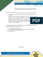EVIDENCIA-6-Cuadro de Analisis Comparativo Sobre-Los Tipos de Software DESARROLLADO