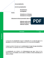 PRECIPITACION-hidrologia