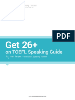 Master TOEFL Speaking