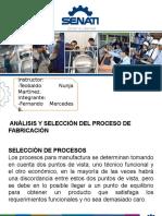 Analisis y Seleccion Del Proceso de Fabricacion-MERCEDES