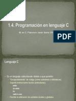 1.4.0. Programación en Lenguaje C