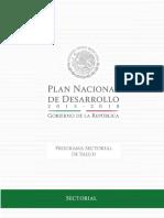 Programa Sectorial de Salud 2013 2018