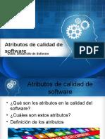 Atributos Software