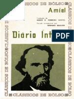 Henri-Frédéric Amiel - Diário Íntimo