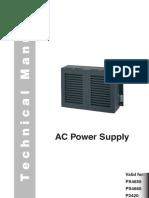 Power Supply PS4665 Manual