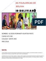 Alisson Danzas de Bolivia