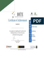 brite certificate