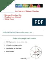 Kuliahke5Strukturatomdgsatuelektron