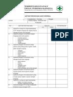Chek List Audit internal