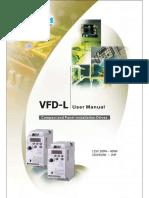 VFD-L Variador de Frecuencia - Delta