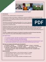 Contact Farming of Medicianl & Aromatic Plants.