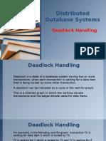 DDBMS Deadlock Handling