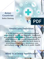 Primary Health Care in Asian Countries