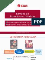 Sesion 3 Estructuras_Cristalinas