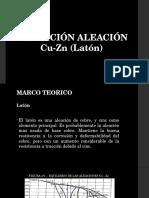 Aleacion de Cu Zinc