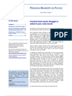 PENSION MARKETS IN FOCUS  July 2010, Issue 7